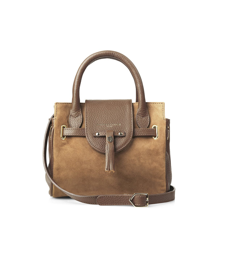 Fairfax & Favour Mini Windsor Handbag Tan