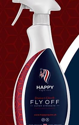 Happy Equine Fly Off Extra Strength Fly Spray 750ml
