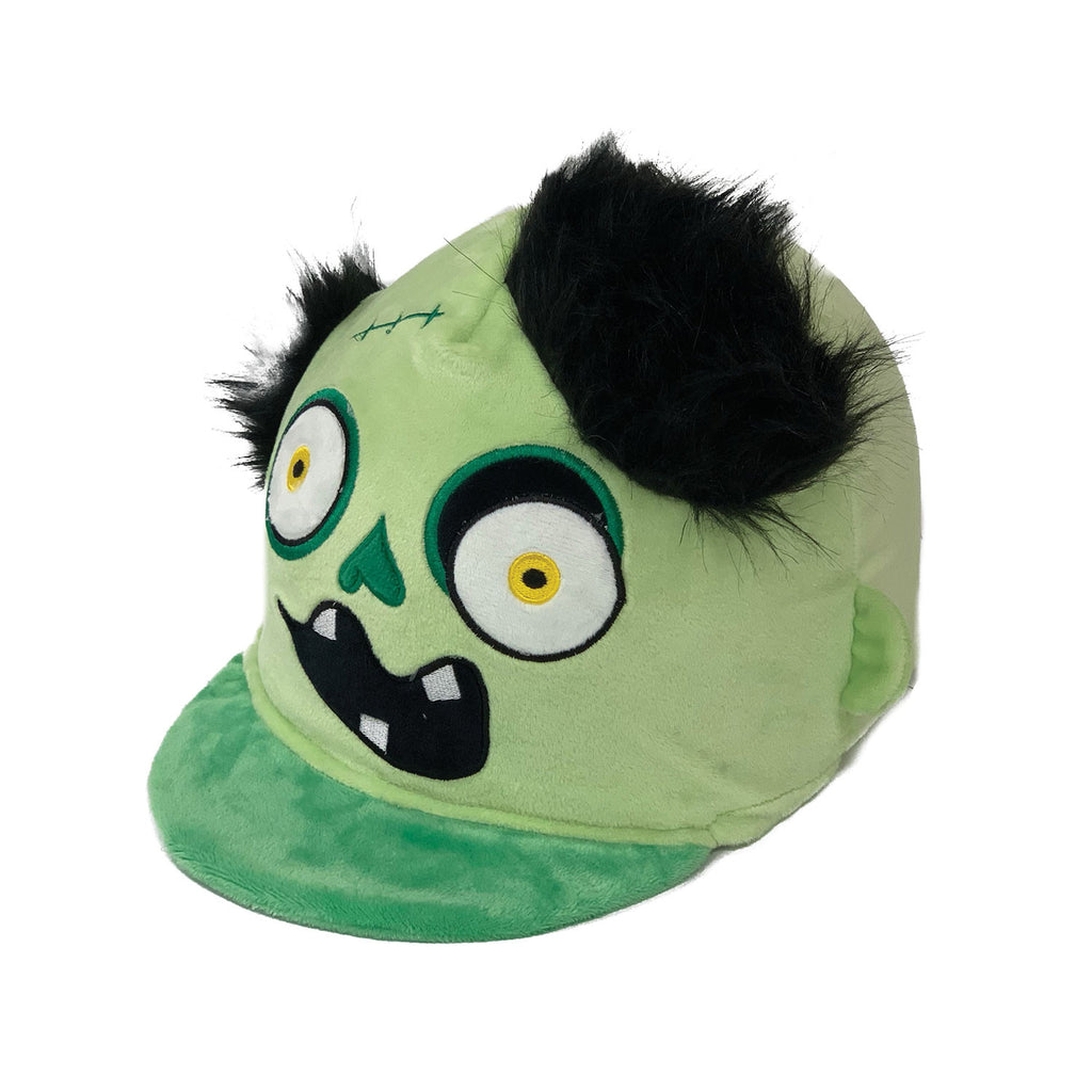 Equetech Childs Frank the Monster Hat Silk - Green
