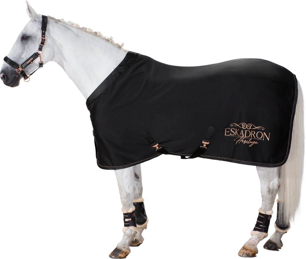 Eskadron AW20 Heritage Sweat Rug Jersey Glossy Collar Black | Country Ways