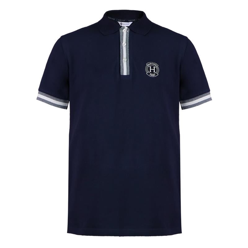 Harcour Colin Polo Shirt Marine Navy | Country Ways