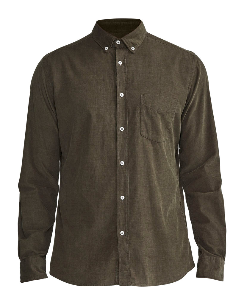 Holebrook Sam Shirt Bottle Green | Country Ways