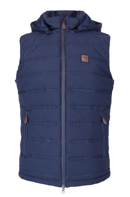 Harcour Johnny Mens Bodywarmer Navy | Country Ways