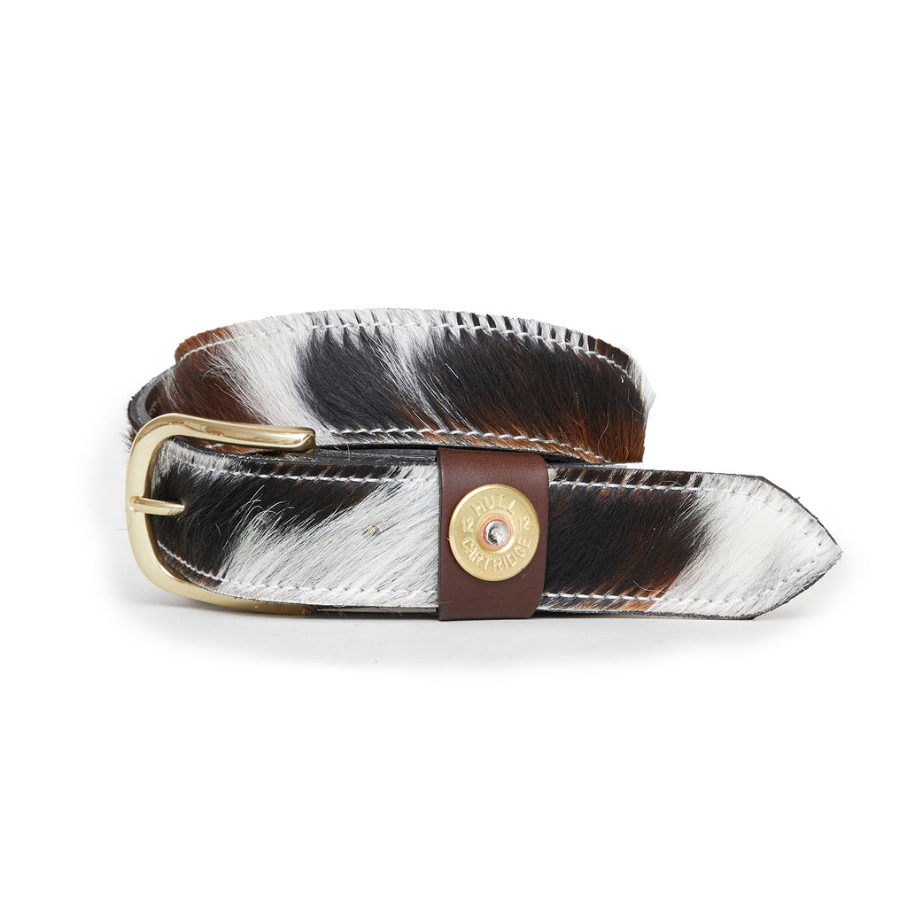 Hicks & Hides Moreton Keeper Belt Cowhide | Country Ways