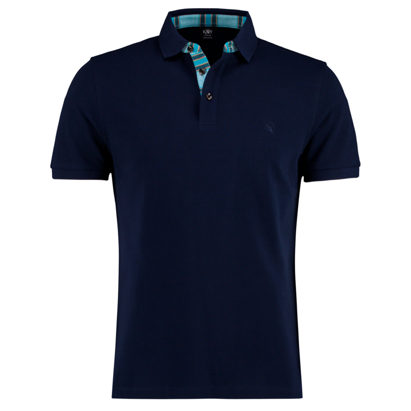 Koy SS Mens Polo Luo Navy | Country Ways