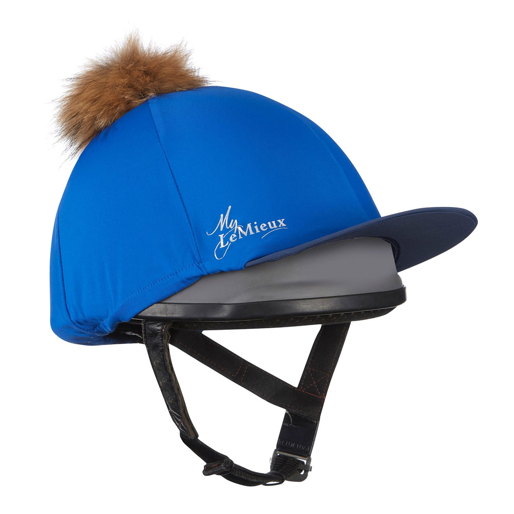 Le Mieux Pom Pom Hat Silk Benetton Blue | Country Ways