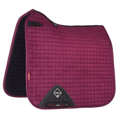 Lemieux ProSport Suede Dressage Square Plum | Country Ways