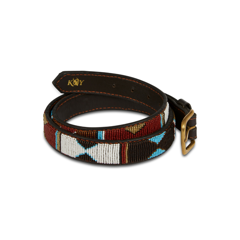 Koy Clothing Maasai Belt Mwezi | Country Ways