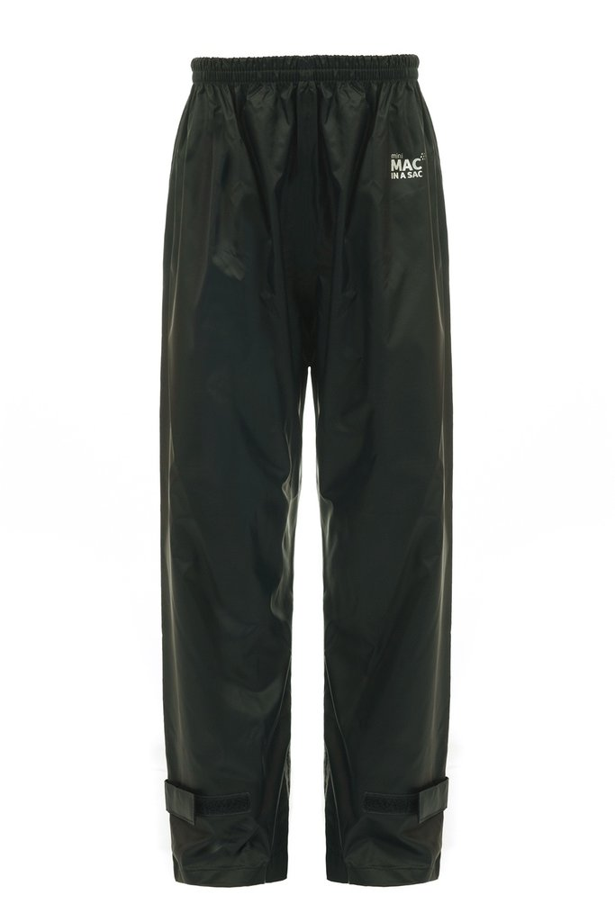 Mac in a Sac Trousers Jet Black | Country Ways