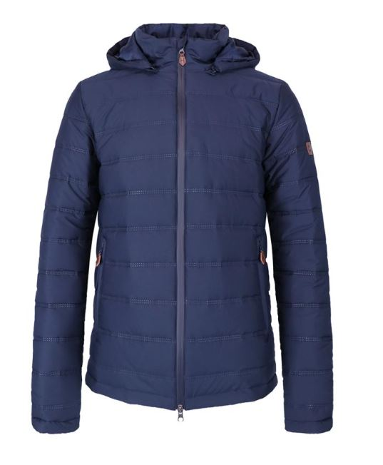 Harcour Billy Mens Padded Jacket Navy | Country Ways