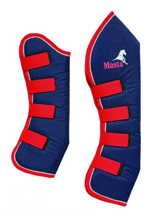 Masta Avante Travel Boots Navy/Red | Country Ways