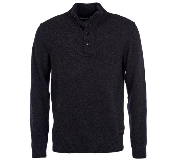 Barbour Patch Half Zip Sweater