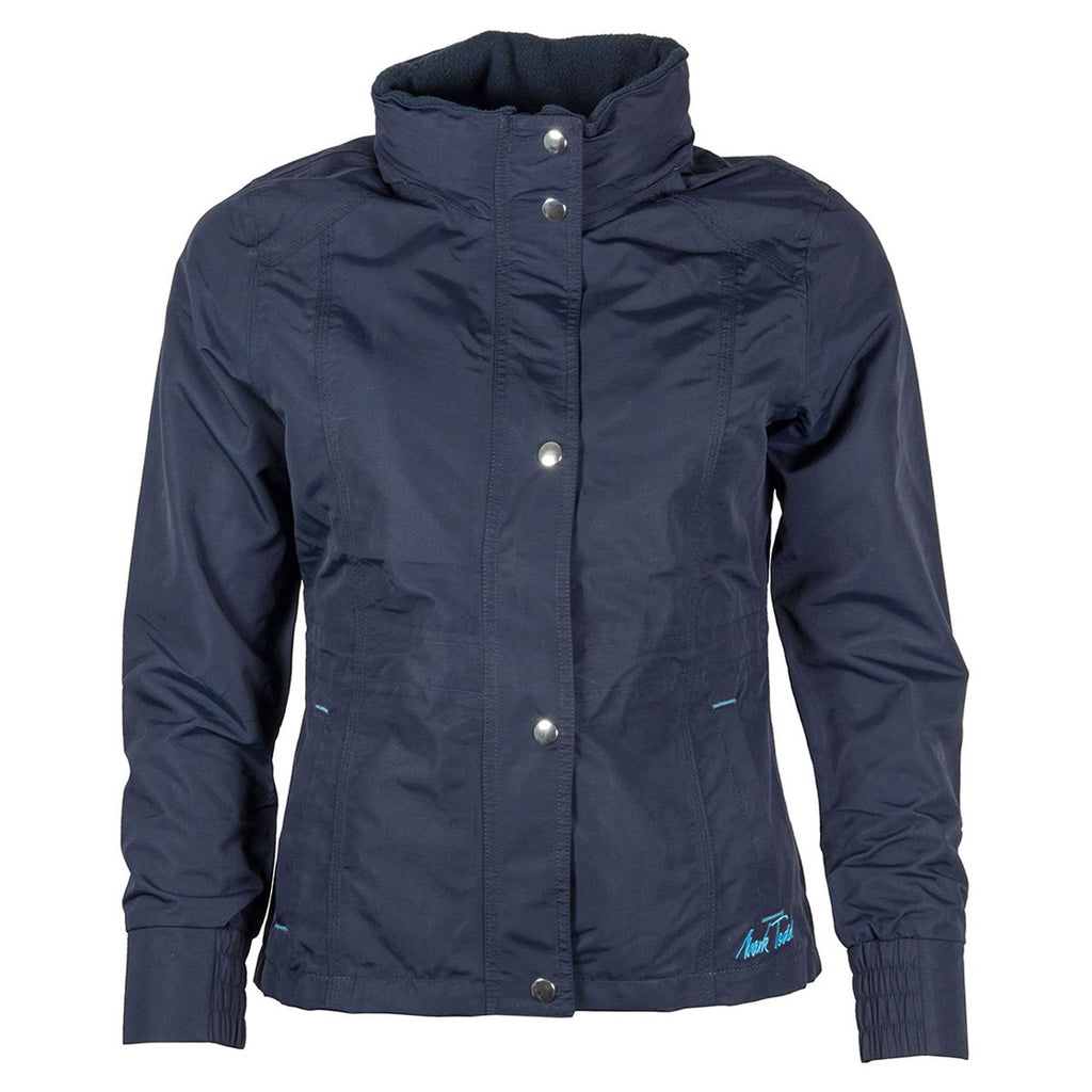 Mark Todd Kids Water Proof Padded Jacket Navy/Aqua | Country Ways