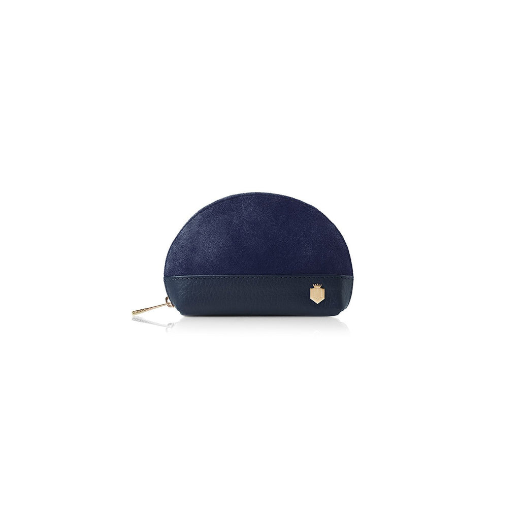 Fairfax & Favor Chatham II Coin Purse Navy Blue | Country Ways