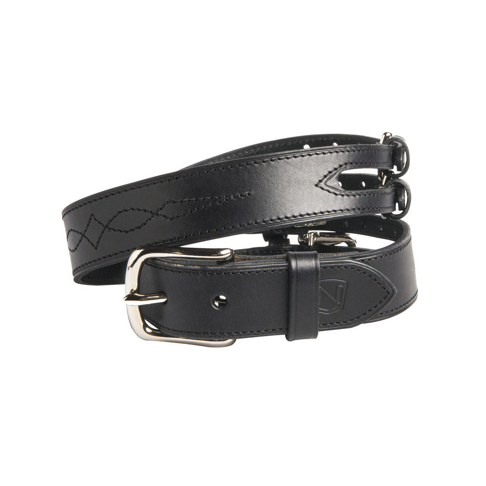 Noble Outfitters Double Buckle Belt Black | Country Ways