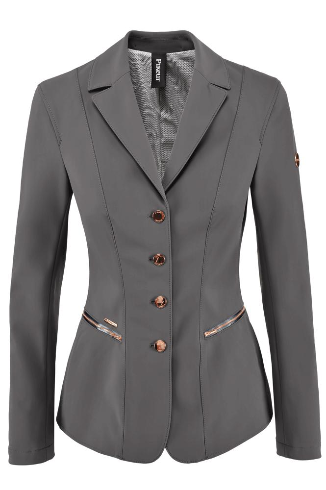 Pikeur Paulin Ladies Competition Jacket Grey/Rose Gold | Country Ways