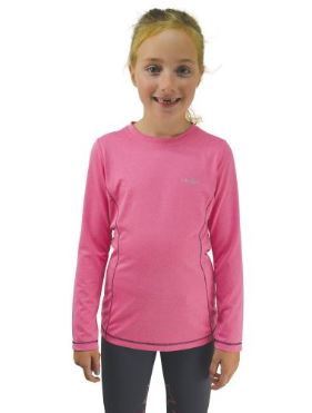 Hy Little Rider Baselayer Rose Pink/Navy | Country Ways