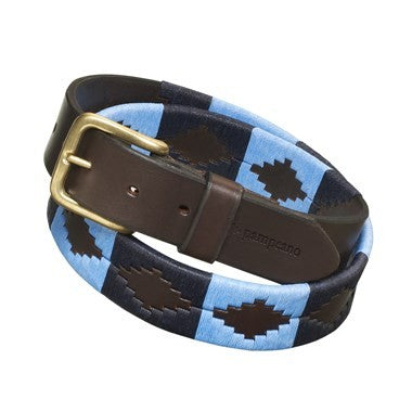 Pampeano Polo Belt Azules | Country Ways