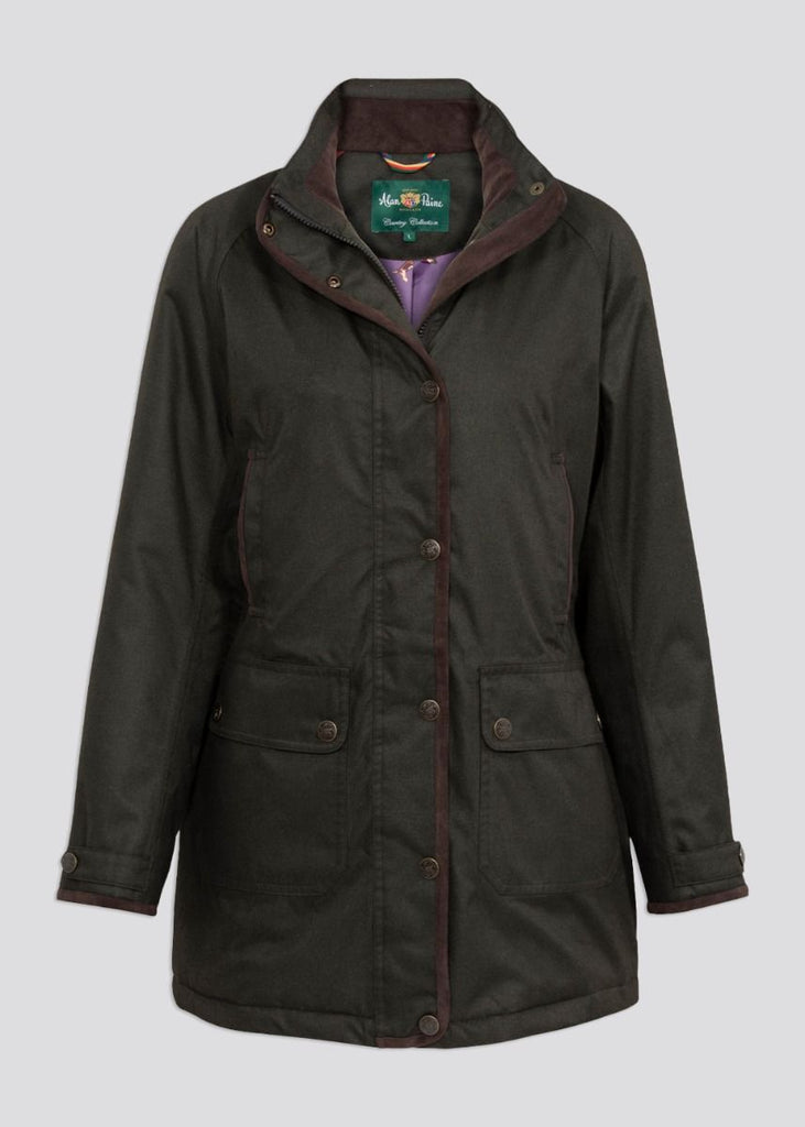 Alan Paine Women's Fernley Weekend Coat Woodland | Country Ways