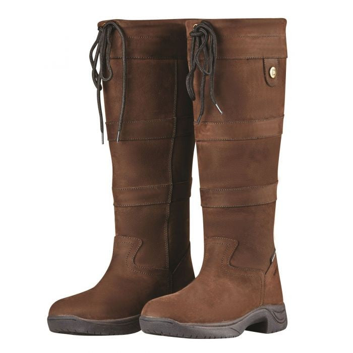 Dublin River Boots Chocolate | Country Ways
