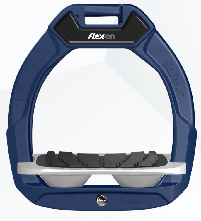 Flex-On Safe-On Junior Inclined Navy | Country Ways