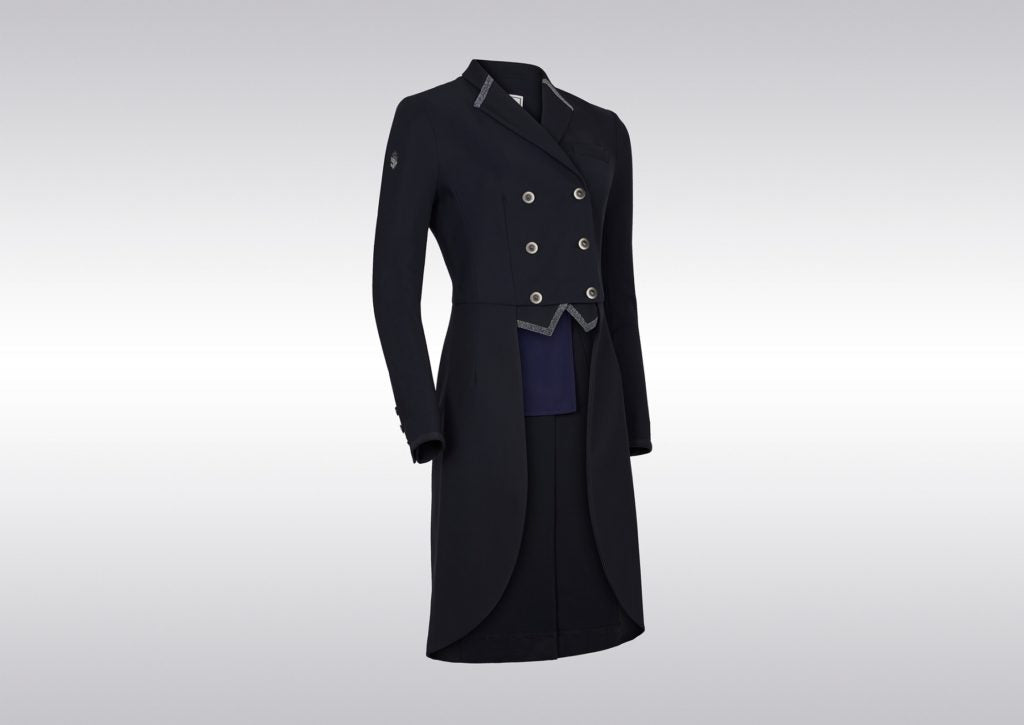 Samshield FW19 Womens Frac Crystal Fabric Tailcoat Navy | Country Ways
