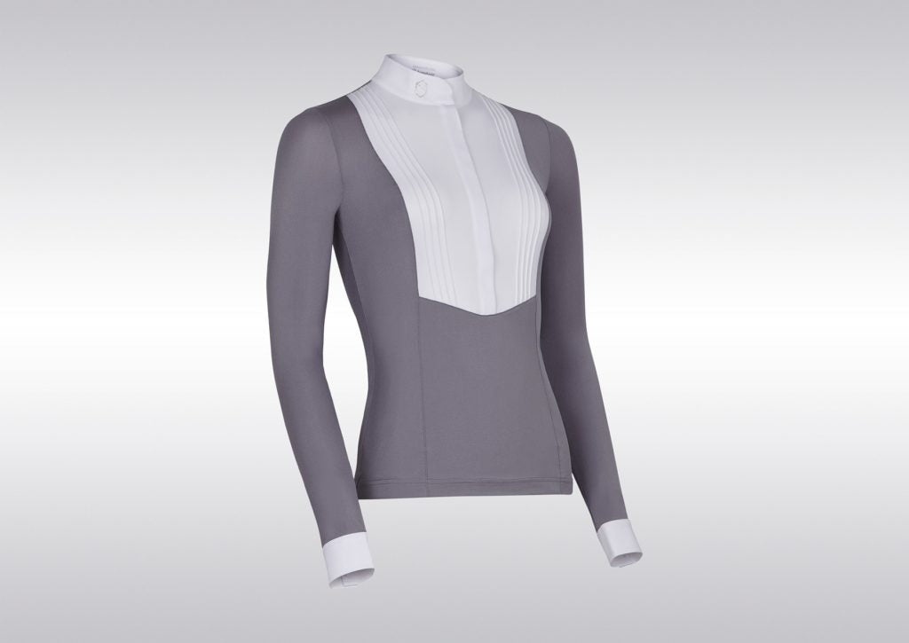Samshield FW19 Womens Sophia Long Sleeved Show Shirt Light Grey | Country Ways