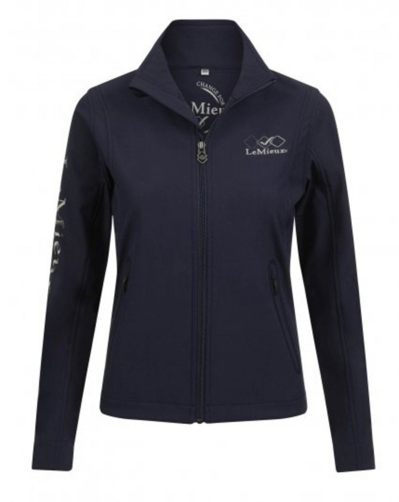 LeMeiux Team Softshell Jacket Navy | Country Ways