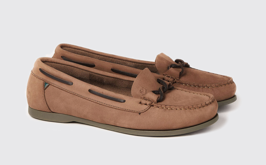 Dubarry Women's Rhodes Deck Shoe Cafe | Country Ways