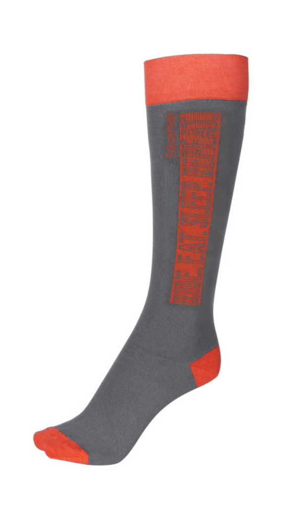 Eskadron Fanatics Knee Socks Grey/Neon | Country Ways