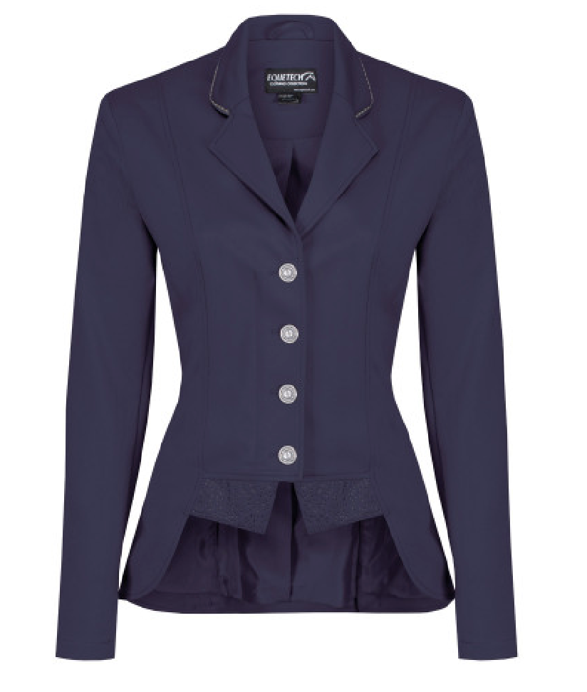 Equetech Moonlight Dressage Competition Jacket Navy | Country Ways