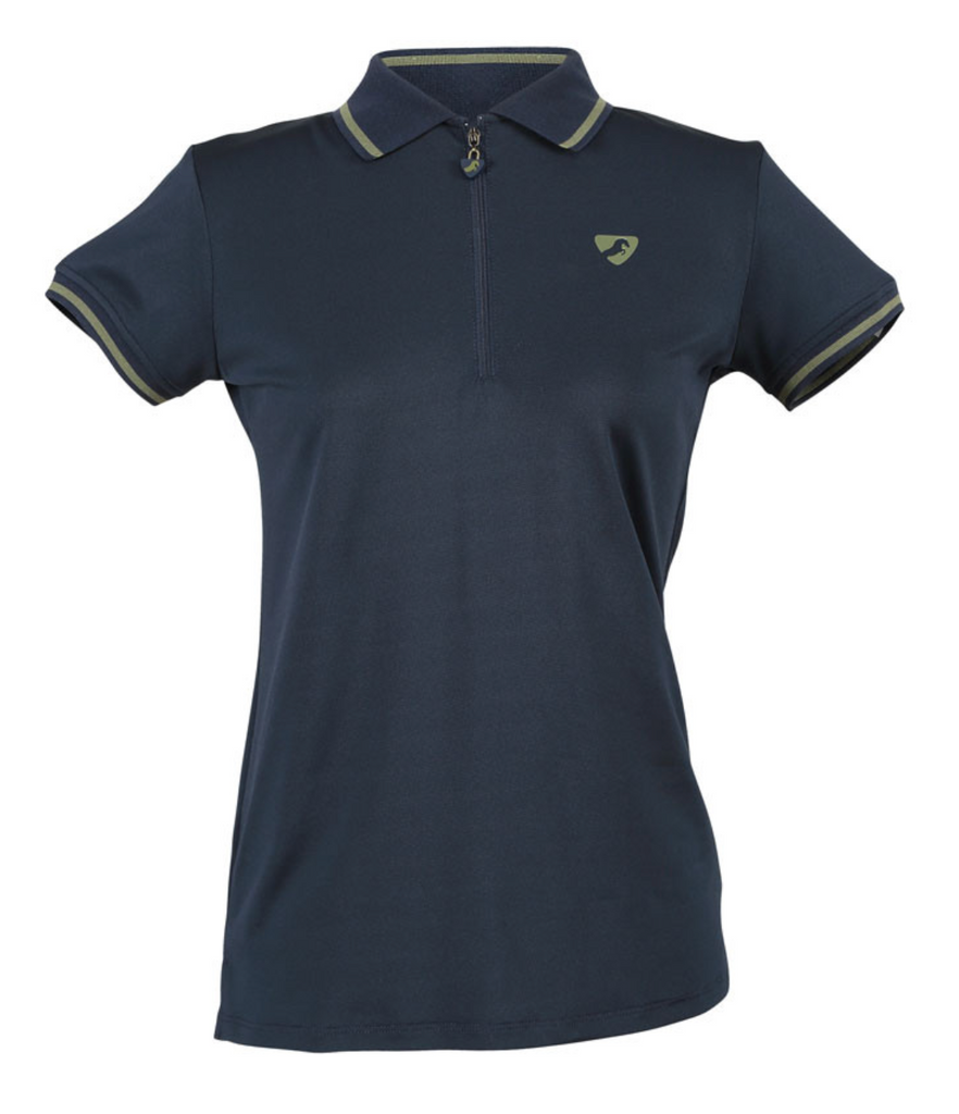 Aubrion Women's Parsons Tech Polo Navy | Country Ways