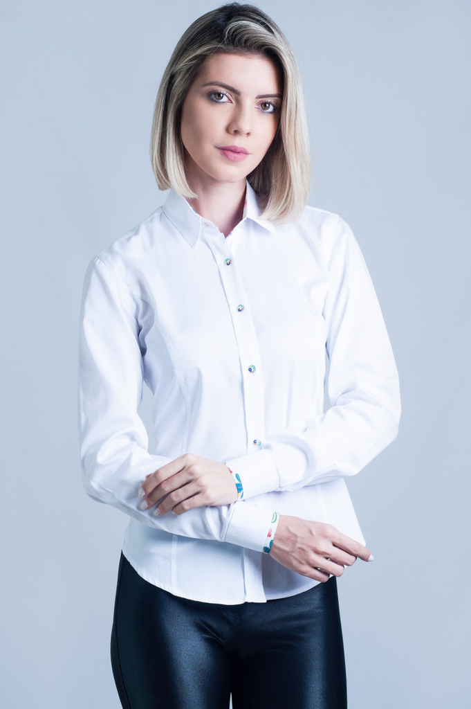 Hartwell Layla Shirt Plain White