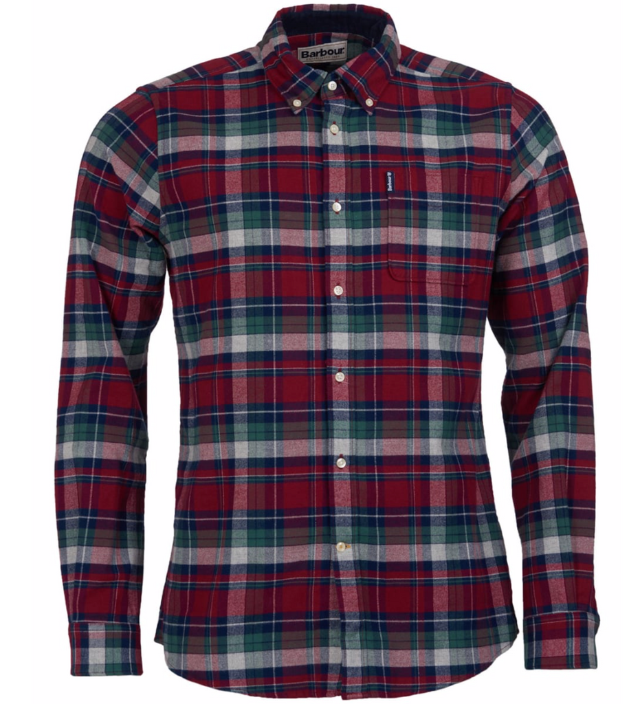 Barbour Highland Check 18 Shirt Tailored Fit