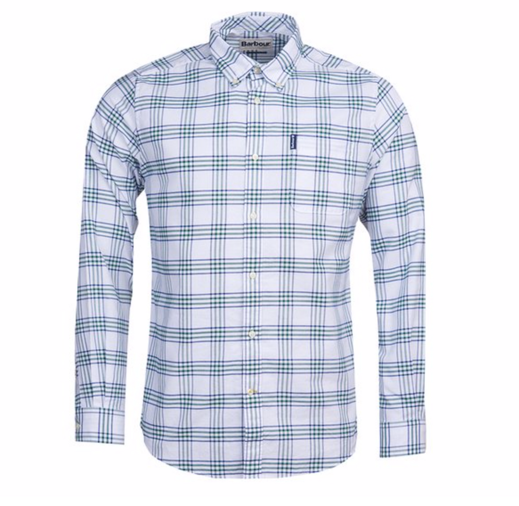 Barbour Country Check 8 Shirt Tailored Fit