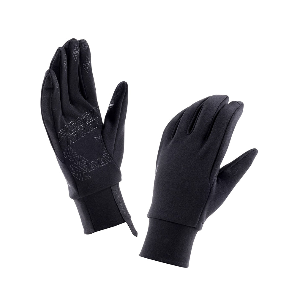 Sealskinz Stretch Fleece Nano Glove Black | Country Ways