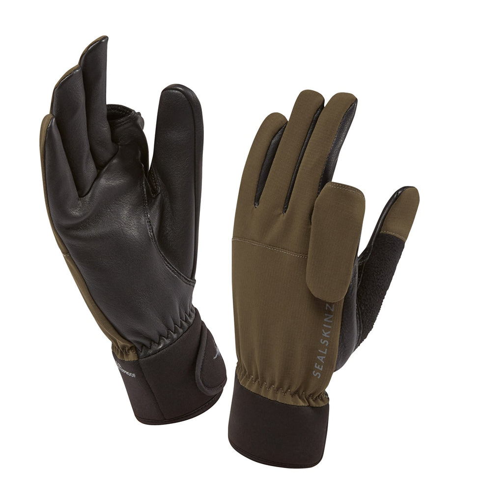 Sealskinz Shooting Glove Olive | Country Ways