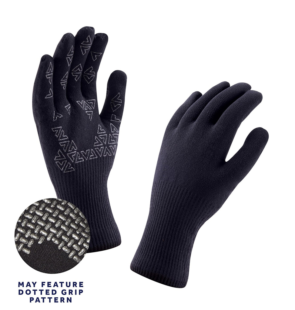 Sealskinz Ultra Grip Glove Black | Country Ways