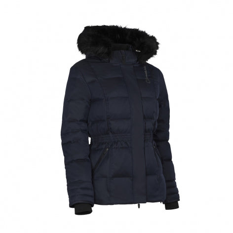 Samshield FW20 Womens Meribel Winter Down Jacket Navy | Country Ways