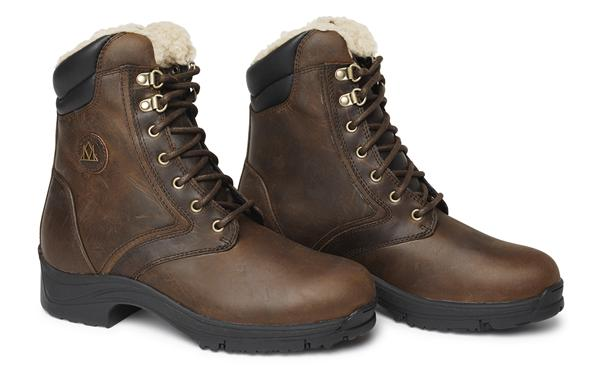 Mountain Horse Snowy River Lace Boots Brown | Country Ways