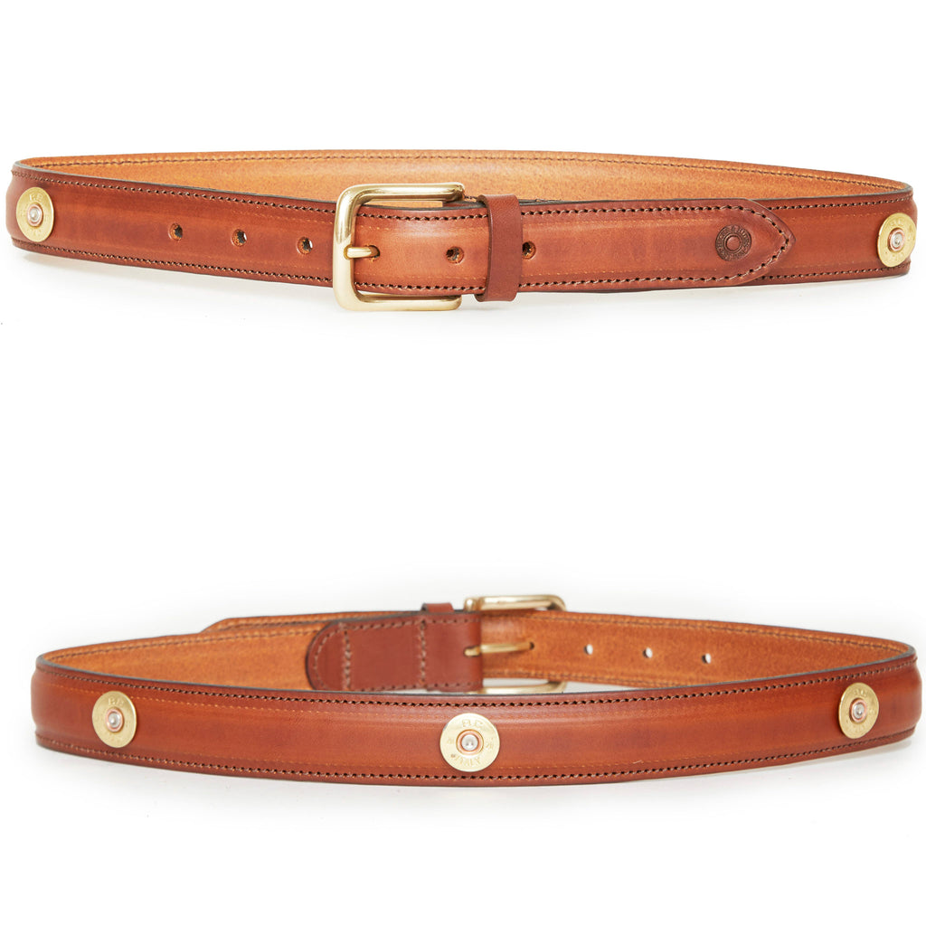 Hicks & Hides Stow Field Belt Multi Cognac | Country Ways