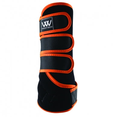 Woof Wear Dressage Wrap Black/Orange | Country Ways
