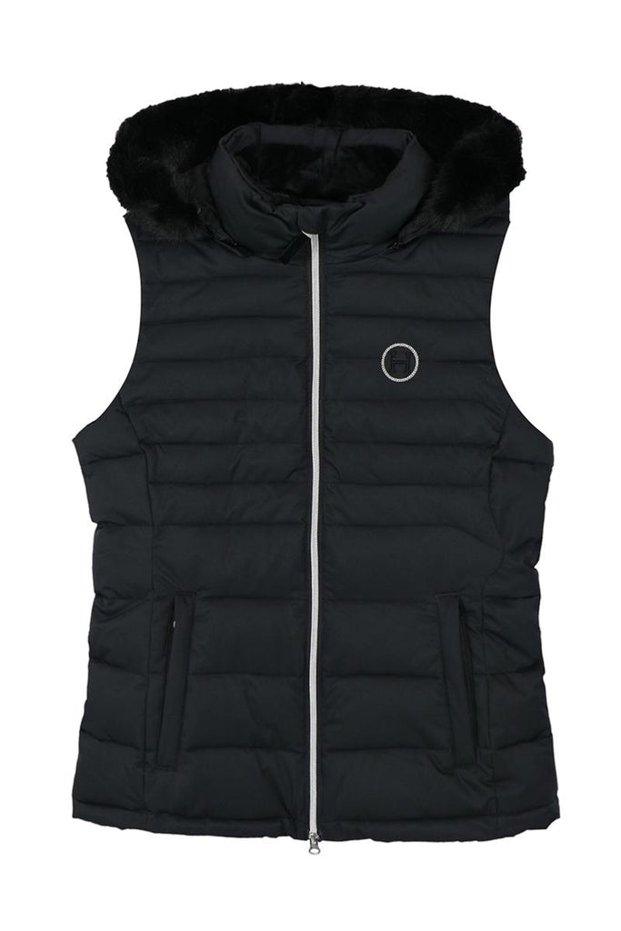 Harcour Lina Womens Bodywarmer Black | Country Ways
