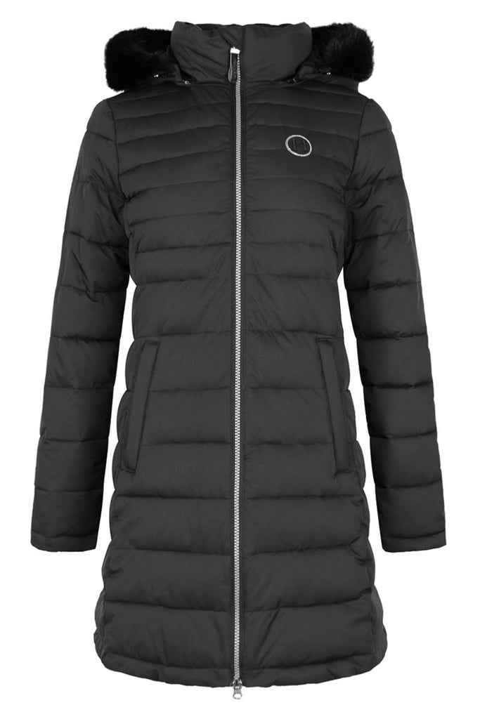 Harcour Valentina Womens Long Padded Jacket Black | Country Ways