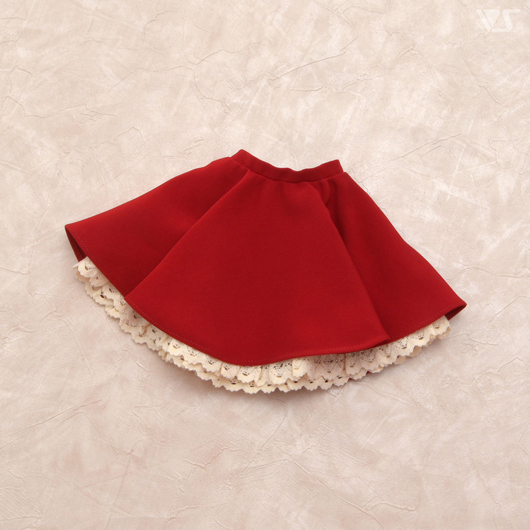 Flared Skirt (Red)