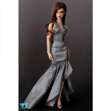 Load image into Gallery viewer, Silver mermaid Dresses
