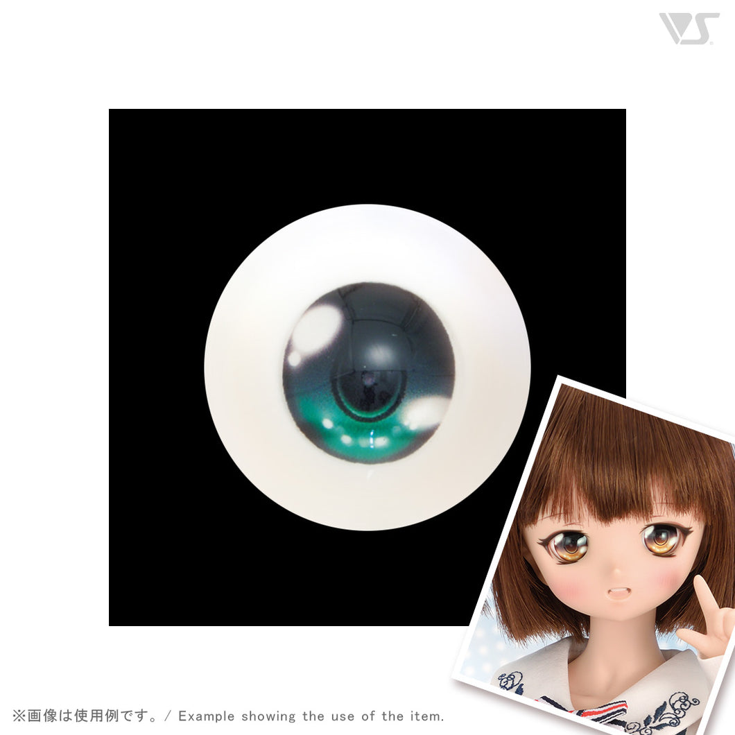 Dollfie Animetic Eyes V Type 20mm Wakaba Color