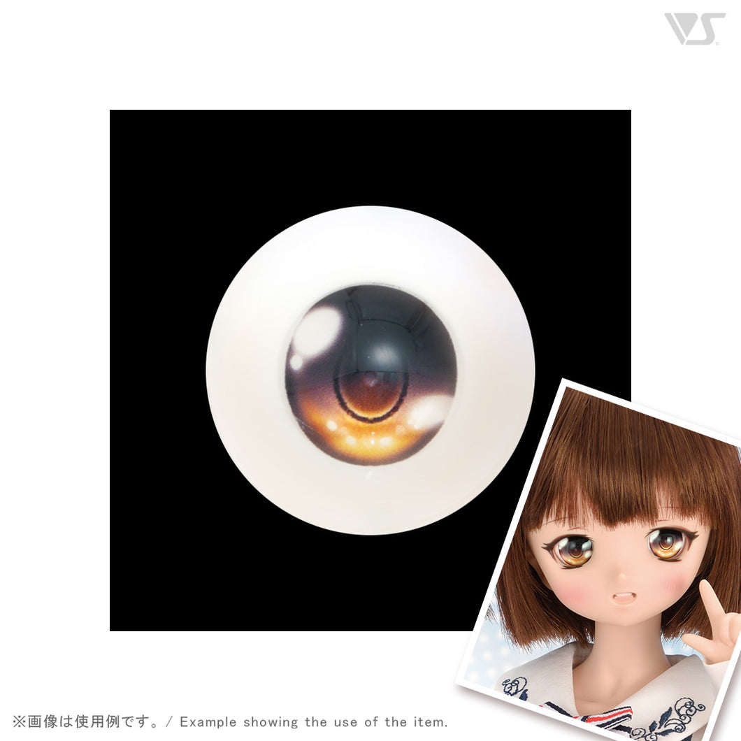 Dollfie Animetic Eyes V Type 22mm Apricot Color