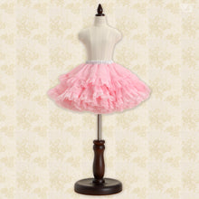 Load image into Gallery viewer, Pompon Skirt / Mini (Pink)