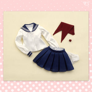 Sailor Uniform Set Version 2 / Mini (Navy Blue)
